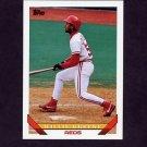 1993 Topps Baseball #764 Willie Greene - Cincinnati Reds