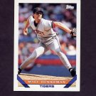 1993 Topps Baseball #756 Mike Henneman - Detroit Tigers