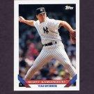 1993 Topps Baseball #749 Scott Kamieniecki - New York Yankees
