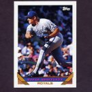 1993 Topps Baseball #735 Steve Shifflett - Kansas City Royals