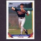 1993 Topps Baseball #715 Greg Gagne - Minnesota Twins
