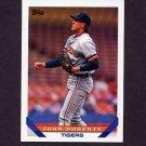 1993 Topps Baseball #713 John Doherty - Detroit Tigers