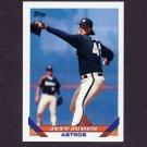 1993 Topps Baseball #709 Jeff Juden - Houston Astros