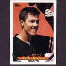 1993 Topps Baseball #698 Ted Wood - San Francisco Giants