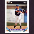 1993 Topps Baseball #689 Eddie Zosky - Toronto Blue Jays