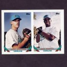 1993 Topps Baseball #683 Jerry Stafford / Eddie Christian RC - Florida Marlins