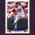 1993 Topps Baseball #674 Mark Gubicza - Kansas City Royals