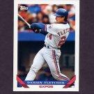 1993 Topps Baseball #665 Darrin Fletcher - Montreal Expos