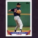 1993 Topps Baseball #652 Dave West - Minnesota Twins