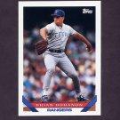 1993 Topps Baseball #638 Brian Bohanon - Texas Rangers