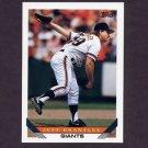 1993 Topps Baseball #631 Jeff Brantley - San Francisco Giants
