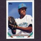 1993 Topps Baseball #627 Andres Berumen RC - Florida Marlins