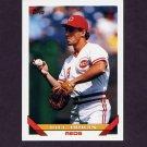 1993 Topps Baseball #608 Bill Doran - Cincinnati Reds