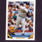 1993 Topps Baseball #590 Cal Eldred - Milwaukee Brewers