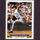 1993 Topps Baseball #569 Shawn Barton RC - Seattle Mariners