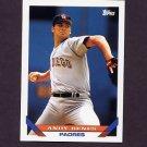 1993 Topps Baseball #568 Andy Benes - San Diego Padres