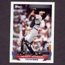 1993 Topps Baseball #561 Matt Nokes - New York Yankees