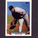 1993 Topps Baseball #554 Arthur Rhodes - Baltimore Orioles