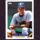 1993 Topps Baseball #539 Kerry Woodson - Seattle Mariners