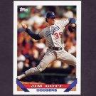 1993 Topps Baseball #418 Jim Gott - Los Angeles Dodgers