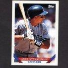 1993 Topps Baseball #348 Andy Stankiewicz - New York Yankees