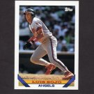 1993 Topps Baseball #347 Luis Sojo - California Angels