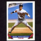 1993 Topps Baseball #336 Mike Pagliarulo - Minnesota Twins
