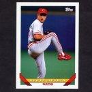 1993 Topps Baseball #328 Scott Ruskin - Cincinnati Reds