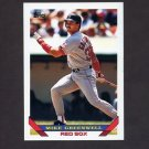 1993 Topps Baseball #323 Mike Greenwell - Boston Red Sox