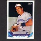 1993 Topps Baseball #322 Pat Borders - Toronto Blue Jays