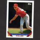 1993 Topps Baseball #317 Kyle Abbott - Philadelphia Phillies