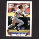 1993 Topps Baseball #309 J.T. Bruett - Minnesota Twins