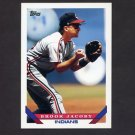 1993 Topps Baseball #303 Brook Jacoby - Cleveland Indians