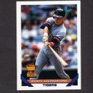 1993 Topps Baseball #298 Scott Livingstone - Detroit Tigers