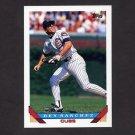1993 Topps Baseball #292 Rey Sanchez - Chicago Cubs