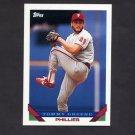 1993 Topps Baseball #291 Tommy Greene - Philadelphia Phillies