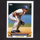 1993 Topps Baseball #288 Dave Cochrane - Seattle Mariners