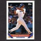 1993 Topps Baseball #284 Henry Rodriguez - Los Angeles Dodgers