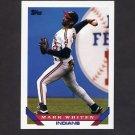 1993 Topps Baseball #277 Mark Whiten - Cleveland Indians