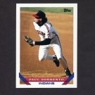 1993 Topps Baseball #264 Paul Sorrento - Cleveland Indians