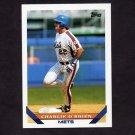 1993 Topps Baseball #242 Charlie O'Brien - New York Mets