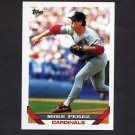 1993 Topps Baseball #229 Mike Perez - St. Louis Cardinals