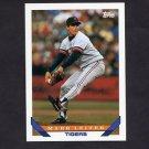1993 Topps Baseball #216 Mark Leiter - Detroit Tigers