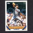 1993 Topps Baseball #210 Mark Langston - California Angels