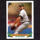 1993 Topps Baseball #209 Jeff Parrett - Oakland A's