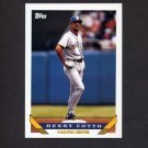 1993 Topps Baseball #206 Henry Cotto - Seattle Mariners