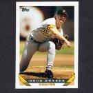 1993 Topps Baseball #190 Doug Drabek - Pittsburgh Pirates