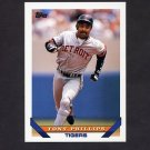 1993 Topps Baseball #189 Tony Phillips - Detroit Tigers