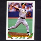 1993 Topps Baseball #182 Ron Darling - Oakland A's
