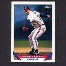 1993 Topps Baseball #167 Steve Olin - Cleveland Indians